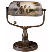 Dale Tiffany Handale Golf Bankers 17'' Table Lamp