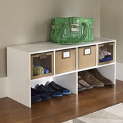ClosetMaid Shelf Organizer; White