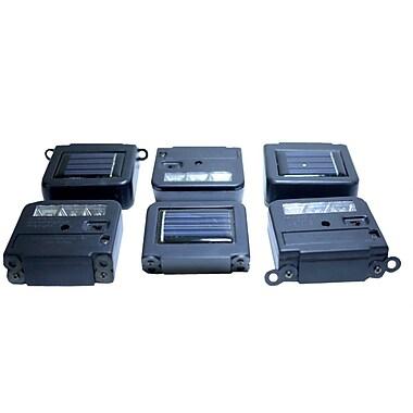 Homebrite Solar Solar 6-Light Deck Light Kit (Set of 6)