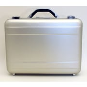 Platt Attache Case; Satin Finish