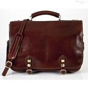 Tony Perotti Messenger Bag; Brown