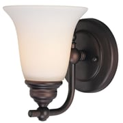 Dolan Designs Hamilton 1 Light Wall Sconce; Royal Bronze