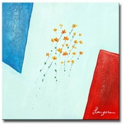 White Walls Simply Summer Original Painting on Canvas