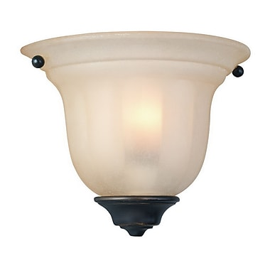 Dolan Designs Olympia 1 Light Small Wall Sconce; Bolivian