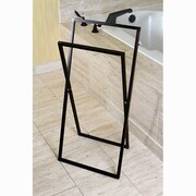 Kingston Brass Edenscape Free Standing Towel Rack; Oil Rubbed Bronze