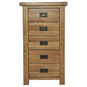 Gallerie Decor Oakdale 5 Drawer Chest