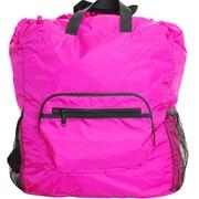 Netpack U-zip Backpack and Tote Bag; Pink