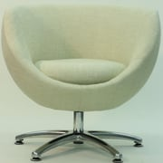 Fox Hill Trading Overman Five Prong Base Globus Chair; Oatmeal