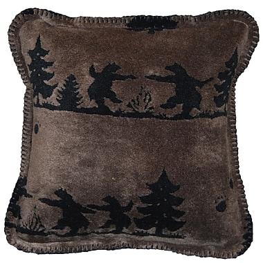 Denali Bear Boogie Throw Pillow