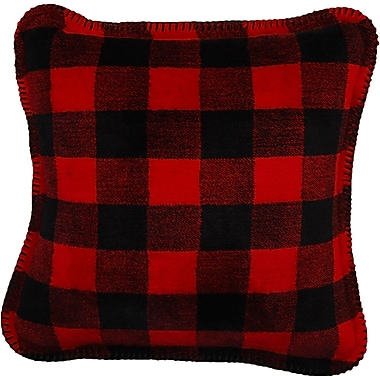 Denali Plaid Throw Pillow
