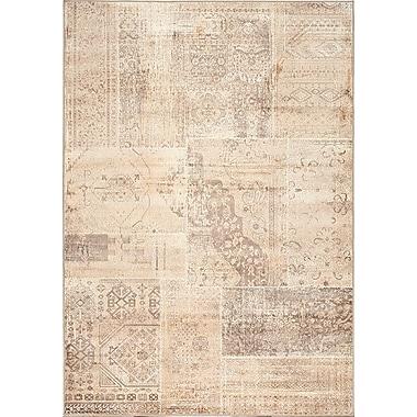 Kalora Antika Brilliant Beige Area Rug; 6'7'' x 9'10''
