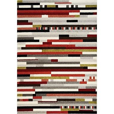 Kalora Safi Colorblocking Area Rug; 5'3'' x 7'7''