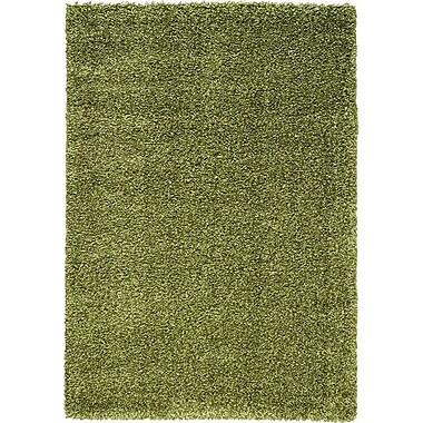 Kalora Opus Luxurious Green Area Rug; 5'3'' x 7'7''