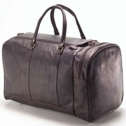 Clava Leather Vachetta 20'' Leather Travel Duffel; Caf
