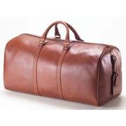 Clava Leather Bridle 23'' Barrel Travel Duffel; Bridle Cognac