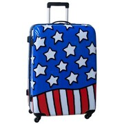 Ed Heck Stars n' Stripes 28'' Hardside Spinner Suitcase