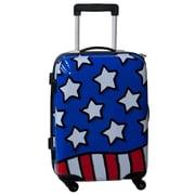 Ed Heck Stars n' Stripes 21'' Hardside Spinner Suitcase