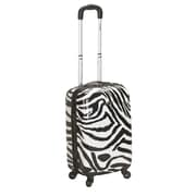 Rockland 20'' Polycarbonate Carry-On; Zebra