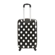Rockland 20'' Polycarbonate Carry-On; White Dot