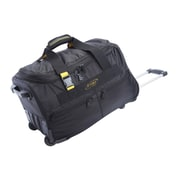 A.Saks Expandable 20'' 2-Wheeled Travel Duffel