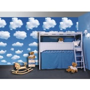 Brewster Home Fashions Ideal Decor Clouds Wall Mural