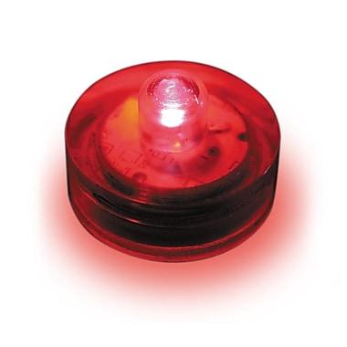 Luminarias Submersible Lights (Set of 12); Red