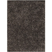 Chandra Tulip Black Area Rug; 7'9'' x 10'6''