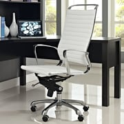 Modway Tempo High-Back Executive Office Chair; White