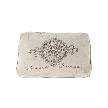 Zentique Inc. French Inspired Linen Lumbar Pillow