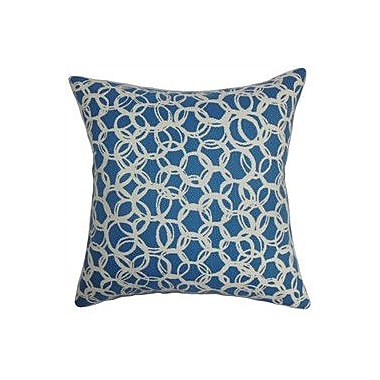 The Pillow Collection Makani Geometric Cotton Throw Pillow