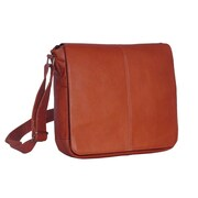 David King Messenger Bag; Tan