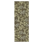 Kaleen Home & Porch Wymberly Coffee Indoor/Outdoor Area Rug; Runner 2' x 6'