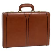 McKlein USA V Series Lawson Leather Attache Case; Brown
