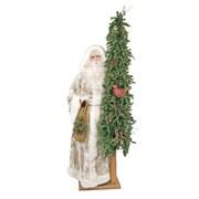 Queens of Christmas Snow Bound Santa Claus Figurine
