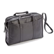 Royce Leather Royce Leather 15'' Laptop Briefcase; Black