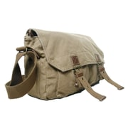 Vagabond Traveler Messenger Bag; Khaki