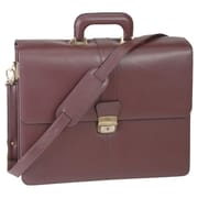 Royce Leather Exeuctive Legal Genuine Leather Briefcase; Cordovan