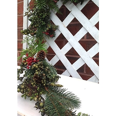 Mills Floral Aw Berry and Pine Garland