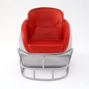 Butt'N Head NCAA Ohio State University Football Helmet Leather Lounge Chair