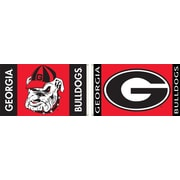 BSI Products NCAA Traditional Flag; Georgia - G Logo on Red & Black