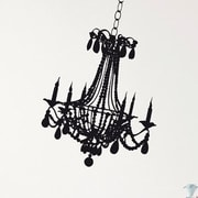Brewster Home Fashions Komar Freestyle Chandelier Wall Decal