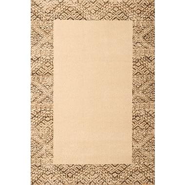 Abacasa Granada Ivory/Brown Area Rug; 5'3'' x 7'6''
