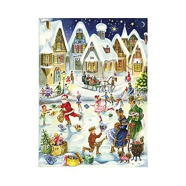 Alexander Taron Skating Scene Advent Card