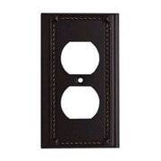 Elk Lighting Clickplates Single Socket Plate in Aged Bronze