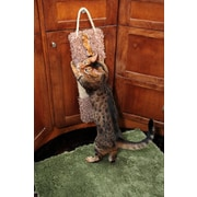 New Cat Condos 20'' Premier Door Hanging Scratching Board; Brown