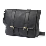 Claire Chase Messenger Bag; Black