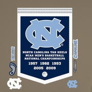Fathead NCAA North Carolina Tar Heels Basketball Championship Banner Wall Decal