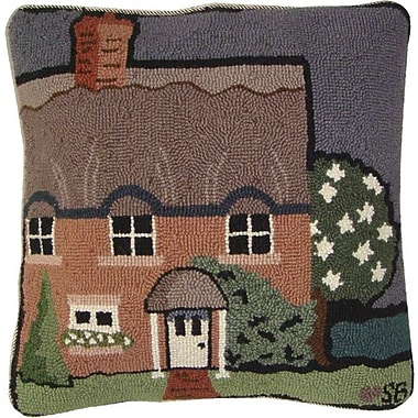 Susan Branch Country House Wool Throw Pillow