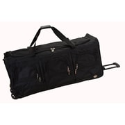 Rockland 40'' 3-Wheeled Travel Duffel; Black