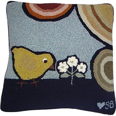 Susan Branch Baby Chicks Wool Throw Pillow